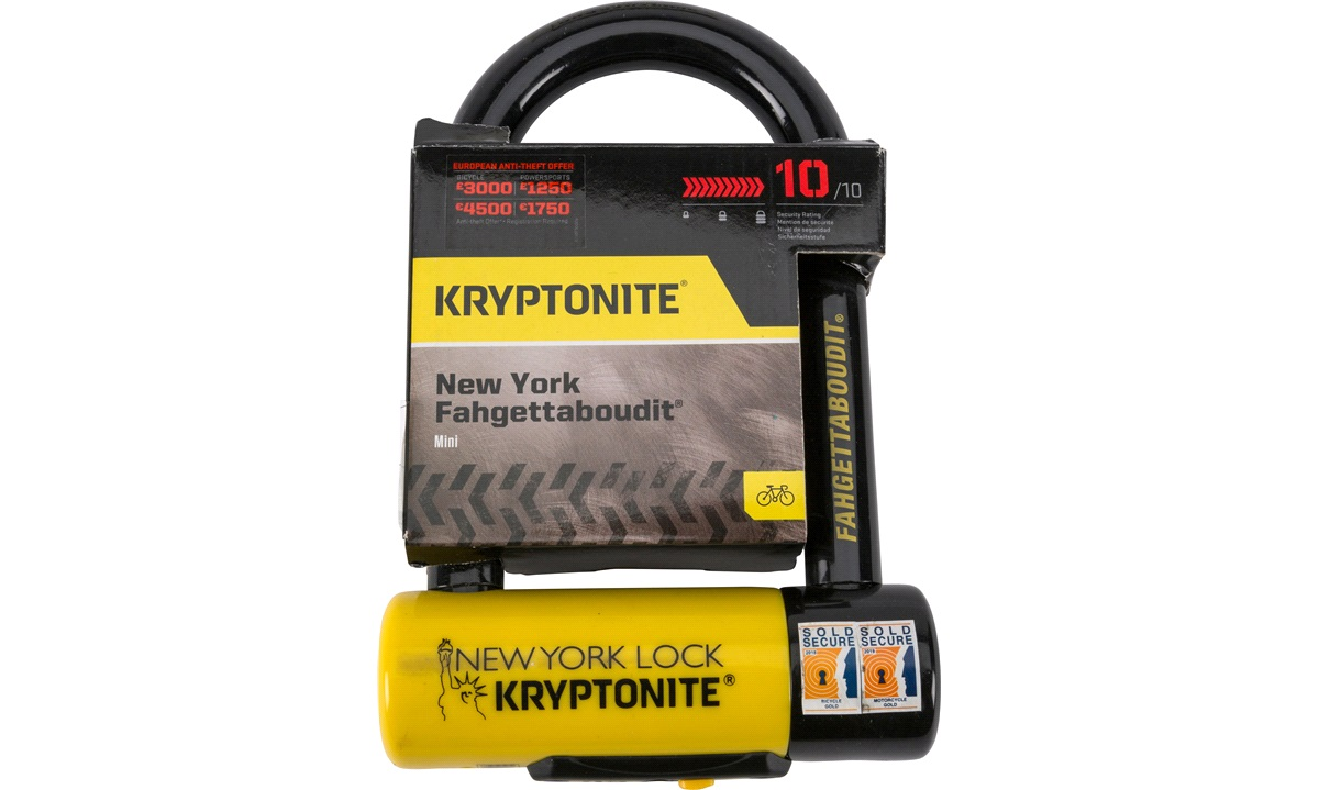 Kryptonite New York Fahgettaboudit Mini 8,3xm X 15,3 cm
