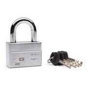 Hængelås SBSC godkendt m/5 nøgler 12mm