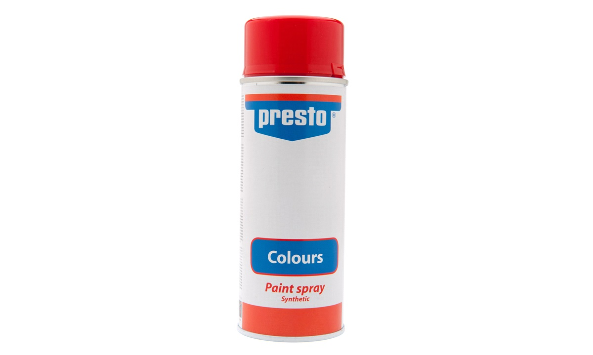 Spraymaling, syntetisk, rød RAL 3000