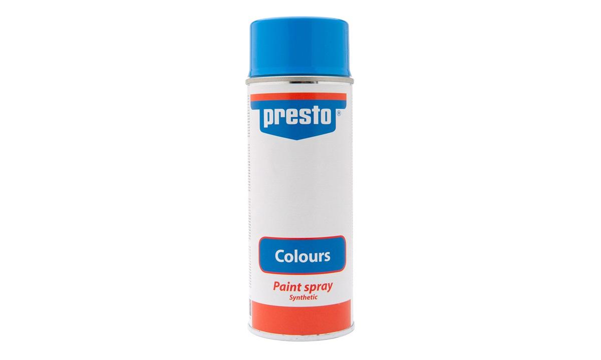 Spraymaling, syntetisk blå