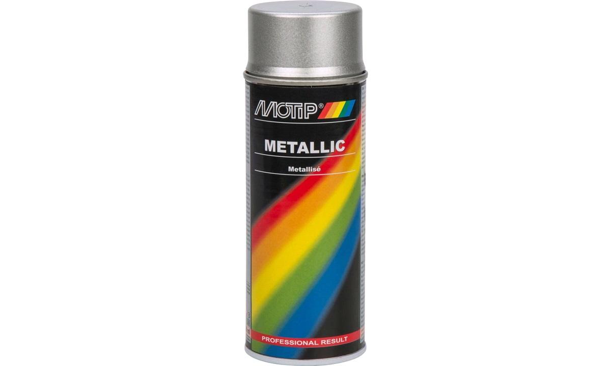 Spraymaling, sølvmetallic