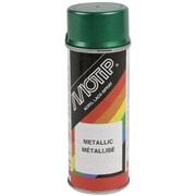 Spraymaling, grønmetallic