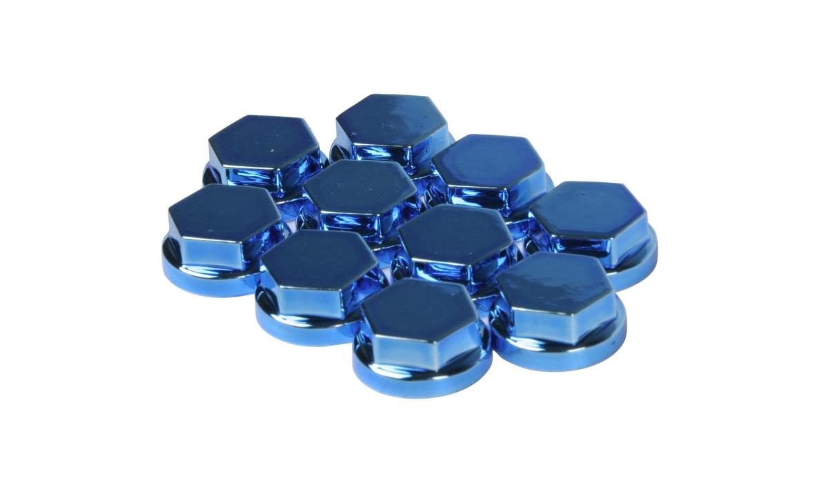 Covers, blå, 10 mm, 10 stk