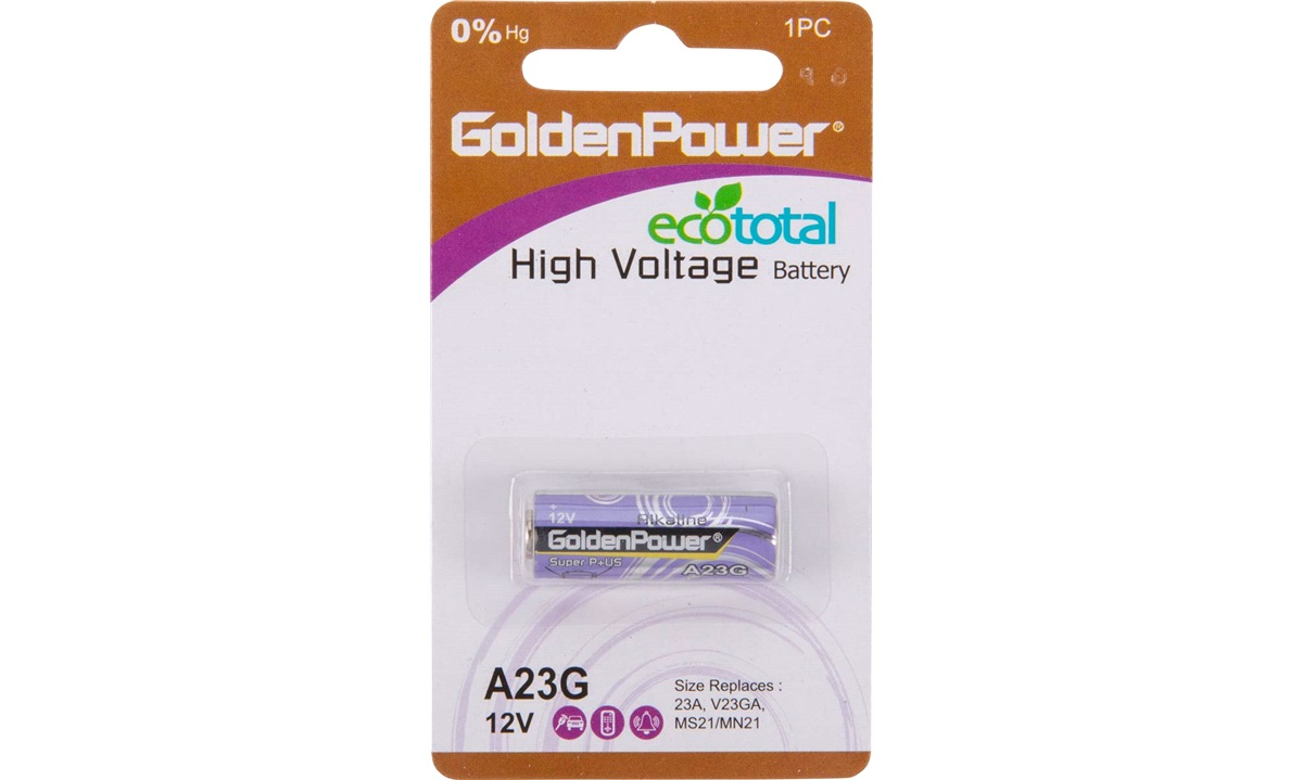 Alkaline batteri 23A V23GA A23G A23M