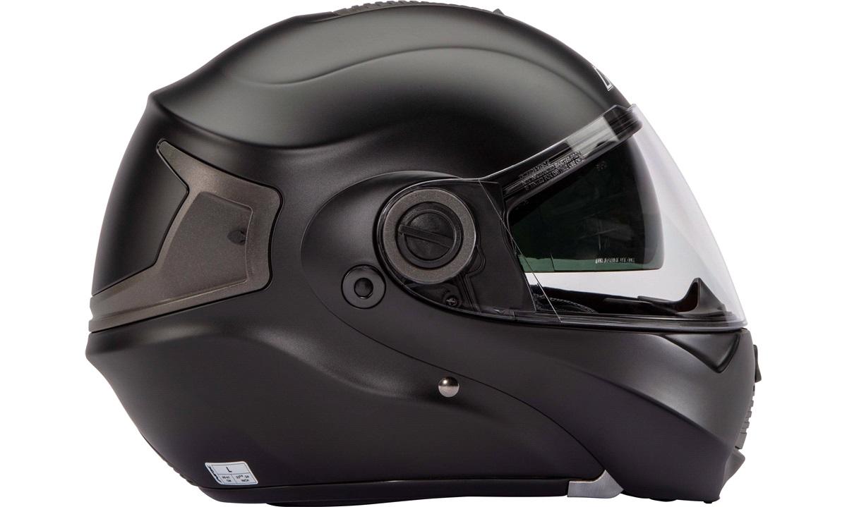 4c3953246f65 AFX FX-36 flip-up hjelm m solbrille matsort