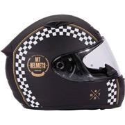 MT Matrix Café Racer glasfiber hjelm XS