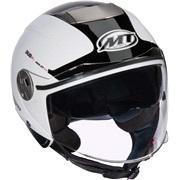 MT City Eleven hvid pilot m/solbrille XS