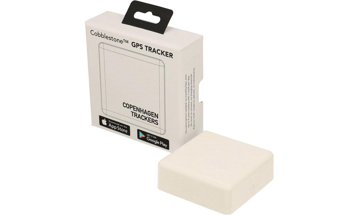 GPS Tracker Cobblestone White Abonnementsfri