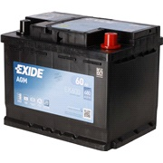 Startbatteri - EK600 - Start-Stop AGM -