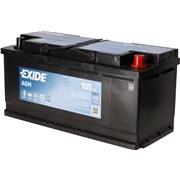 Startbatteri - EK1050 - Start-Stop AGM -