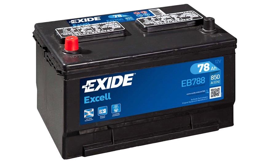 Batteri - EXCELL - (Exide) - Bilbatteri - Stort udvalg i batterier til netop din bil - thansen.dk