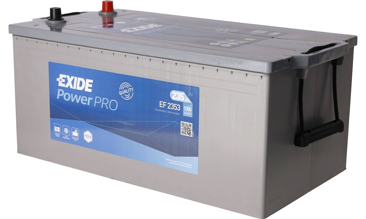 Batteri - EF2353 - PowerPRO - (Exide)