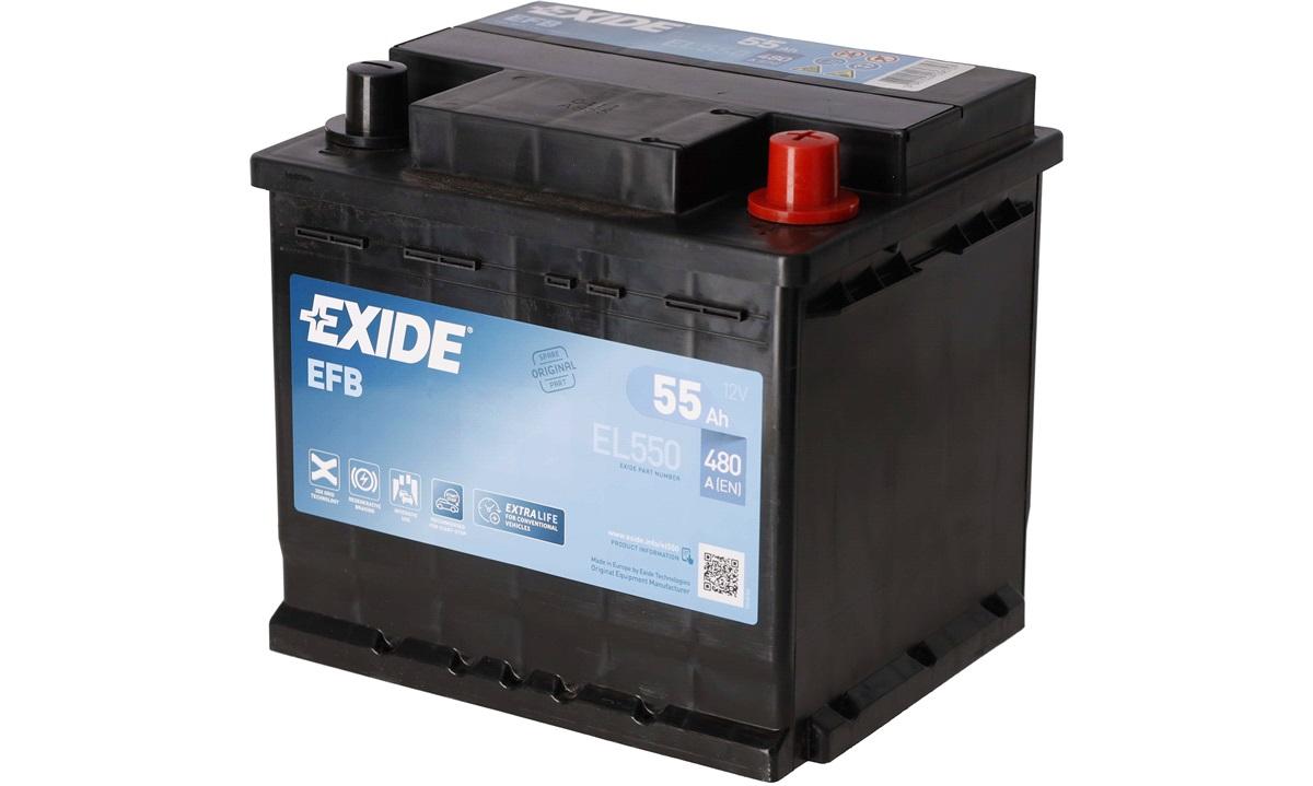 Batteri - EL550 - Start-Stop EFB