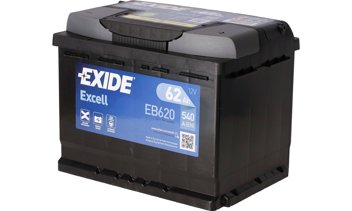 Startbatteri - _EB620 - EXCELL ** - (Exide)
