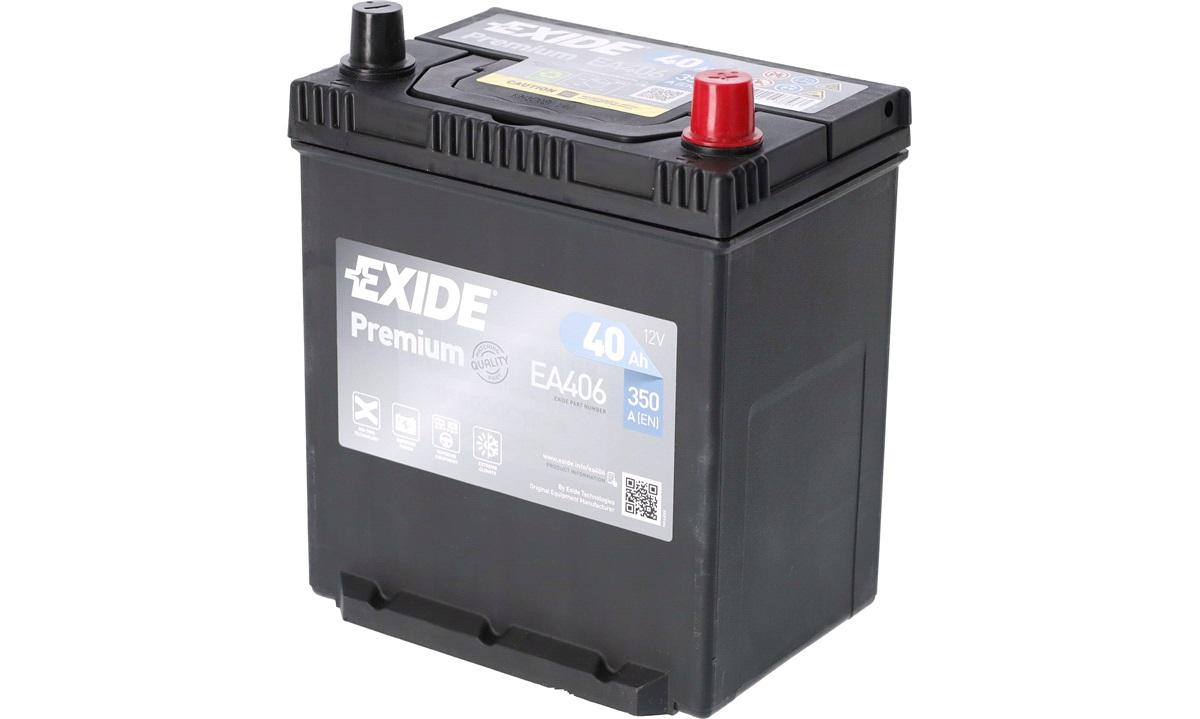 Startbatteri - EA406 - (Exide)