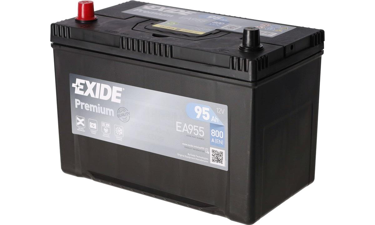 Startbatteri - _EA955 - PREMIUM * - (Exide)