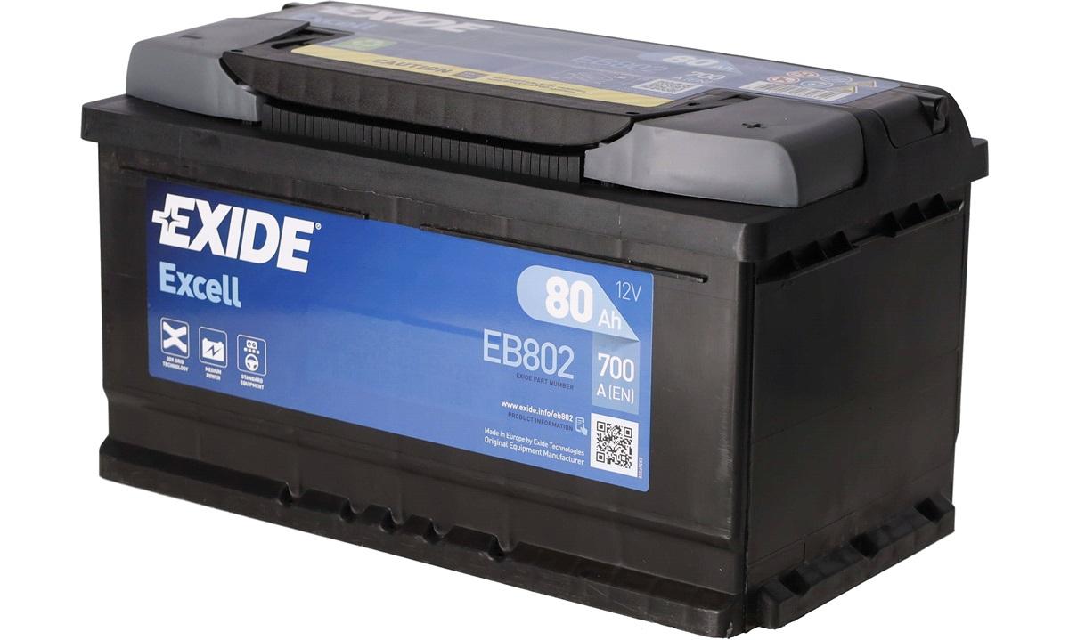 Startbatteri - _EB802 - EXCELL ** - (Exide)