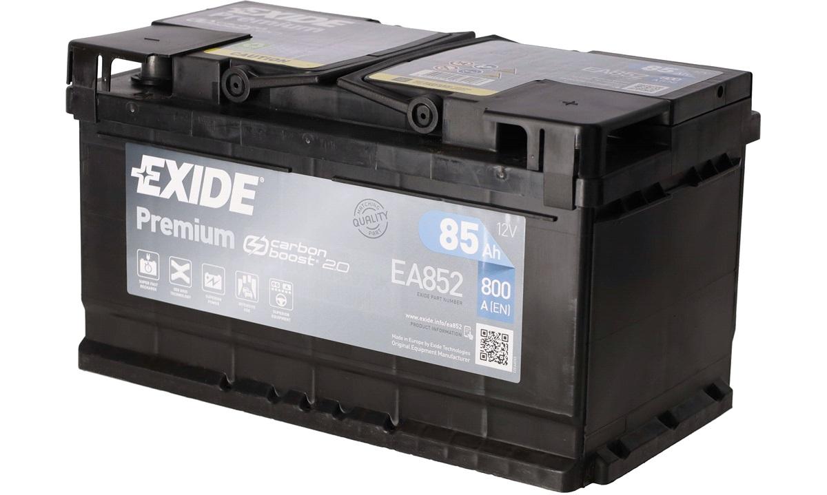 Startbatteri - EA852 PREMIUM * (Exide)