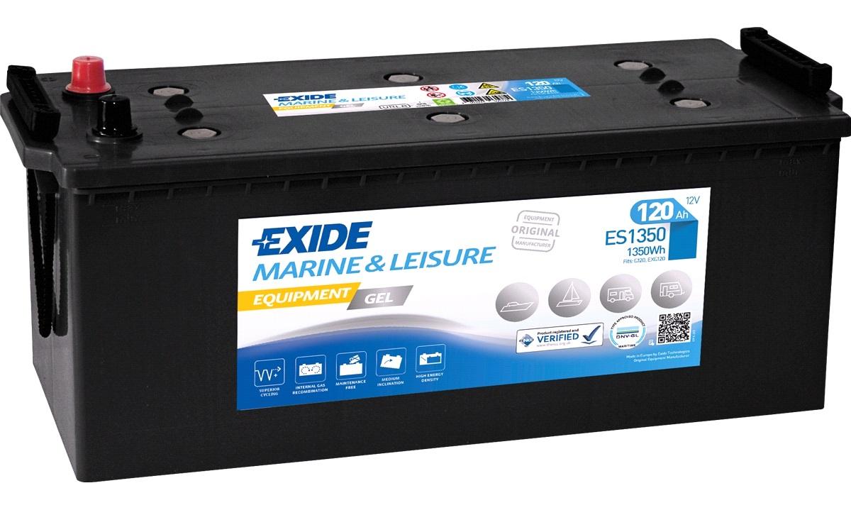 Batteri - ES1350 - EXIDE Equipment GEL -