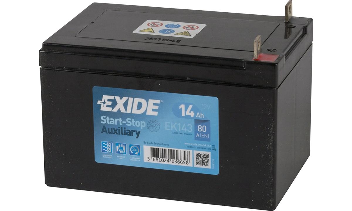 Batteri - EK143 - Start-Stop Auxiliary -