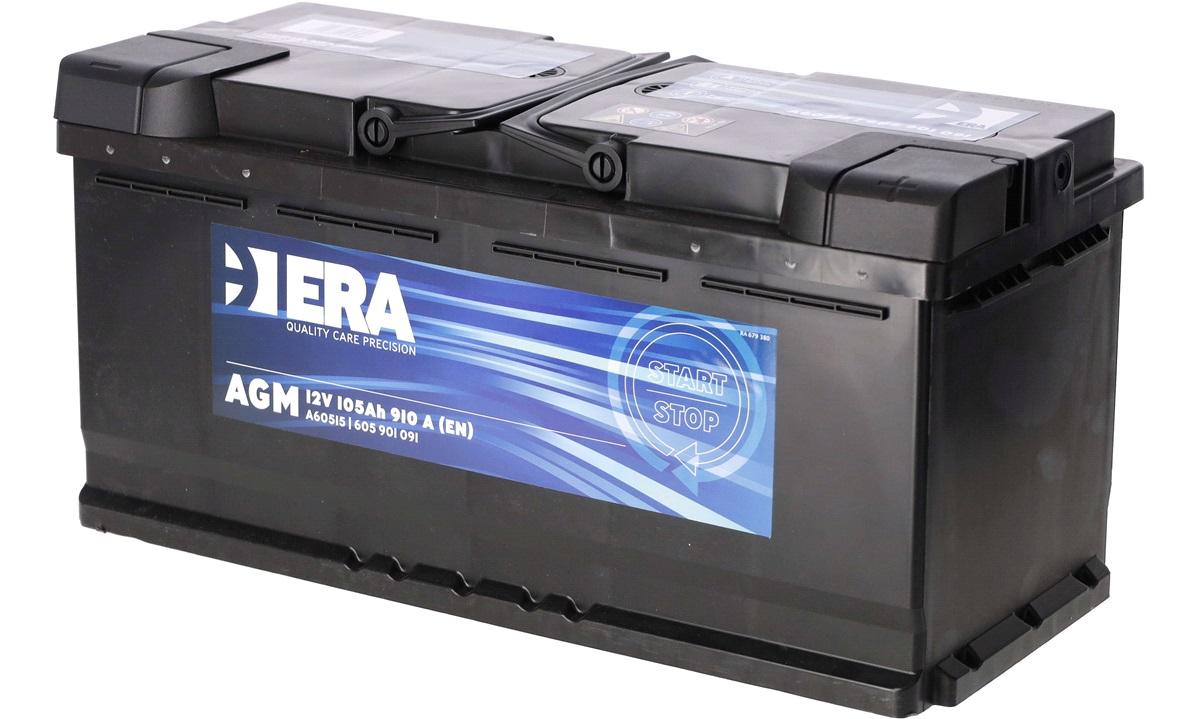 Startbatteri - 4668204 - AGM - (Era)