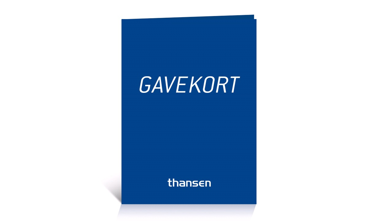 Gavekort - 2500 kroner