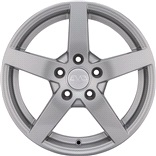 Brio Silver alufæ med dæk