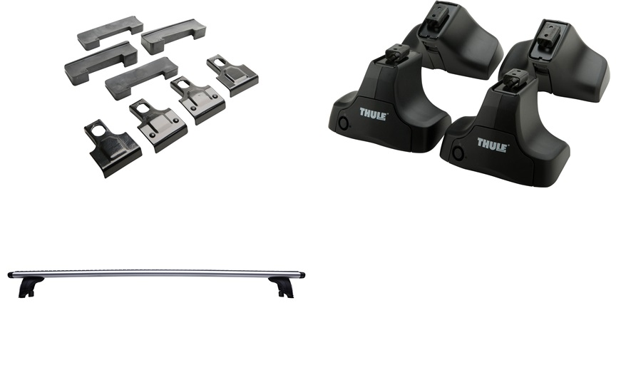 Lastholder THULE Wing S-Max 5d glastag 06- - S-Max 5/06- - thansen.dk