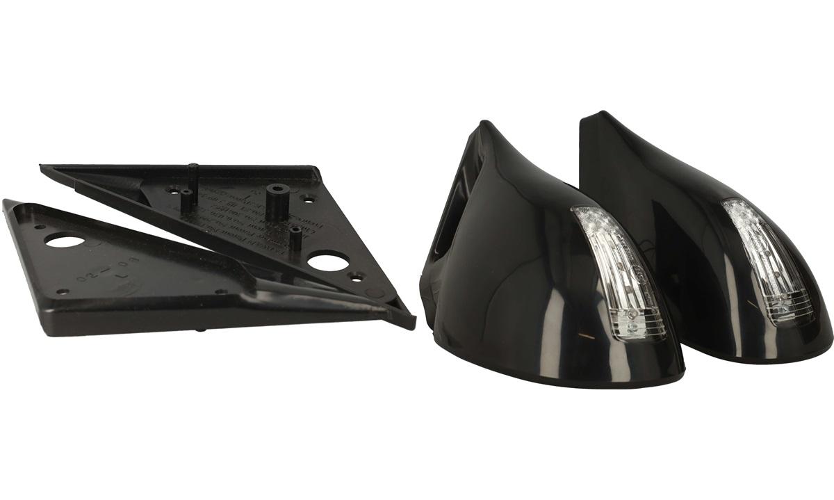 Sportsspejlssæt Passat 97- , sort blink